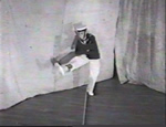 A young sailor practicing his