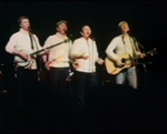 The Clancy Brothers on stage